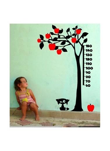 Artikel Boy Cetveli-5 Kadife Duvar Sticker 131X197 Cm, Çocuk Odası Dekorasyonu Renkli